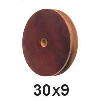 Seilscheibe Tufnol 30 x 9