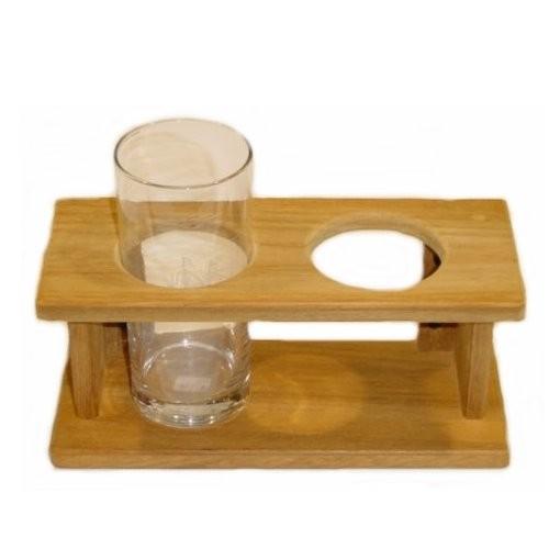 Longdrinkglashalter 2-fach