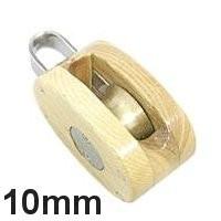 Holz Block 1fach 10mm