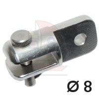 Top-Reff Toggle Auge / Gabel B 8mm TR 1561