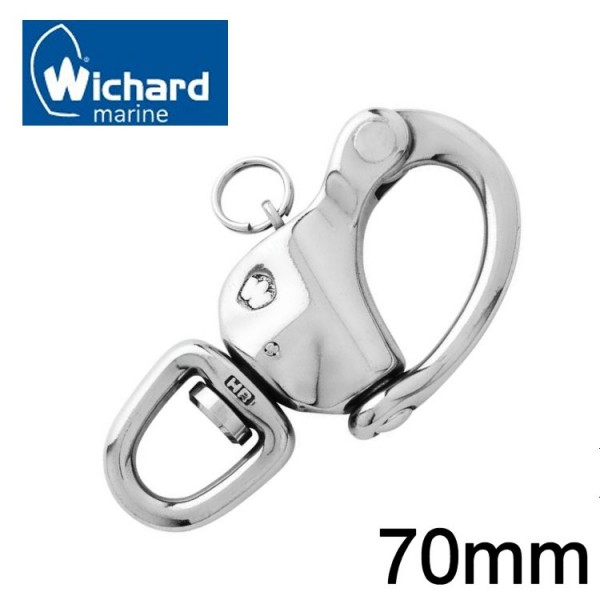 Wichard Schnappschäkel mit Wirbel 70mm