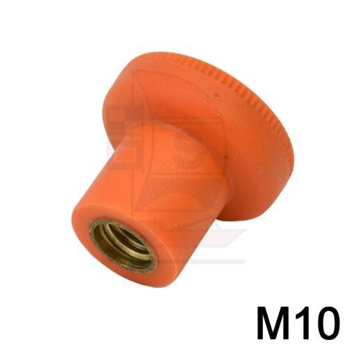 Rändelmutter M10
