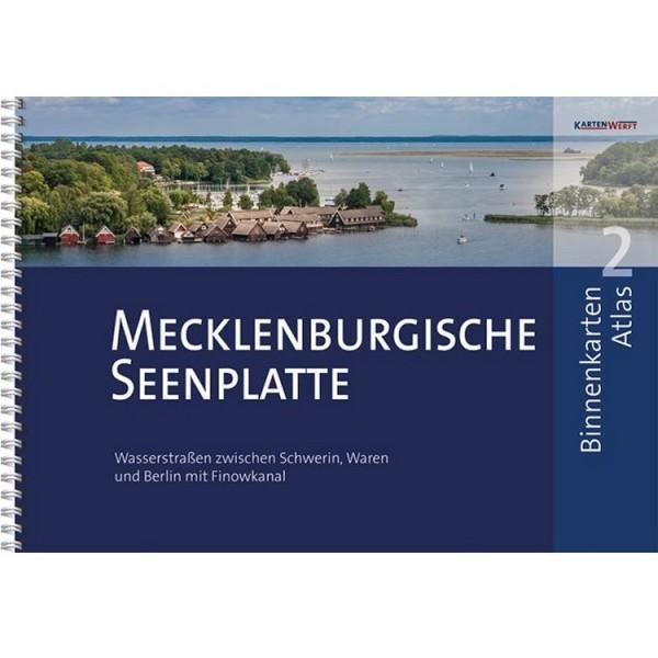 Sportbootkarten Binnen 2 - Mecklenburgische Seenplatte
