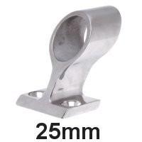 Handlauf-Rohrmittelstück Edelstahl 25mm