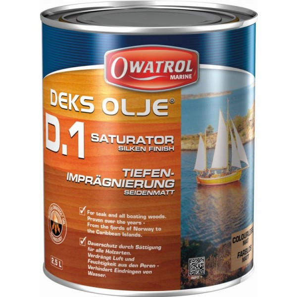 Owatrol Deks-Olje D1 1 Ltr.