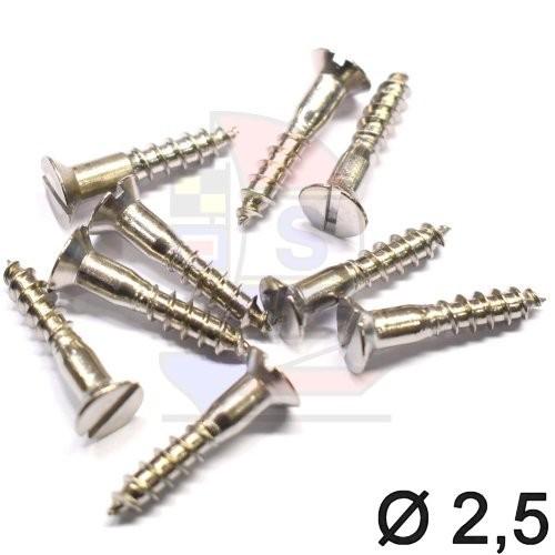 Senkkopfschraube 2,5 (DIN 97)