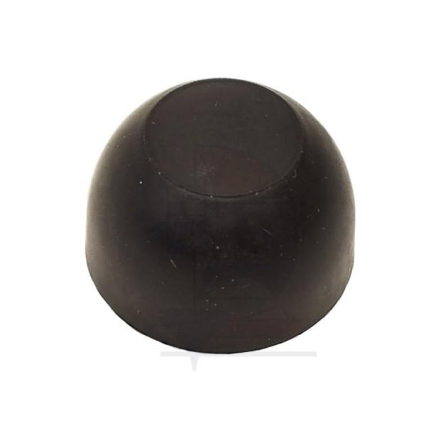 Gummikappe rund