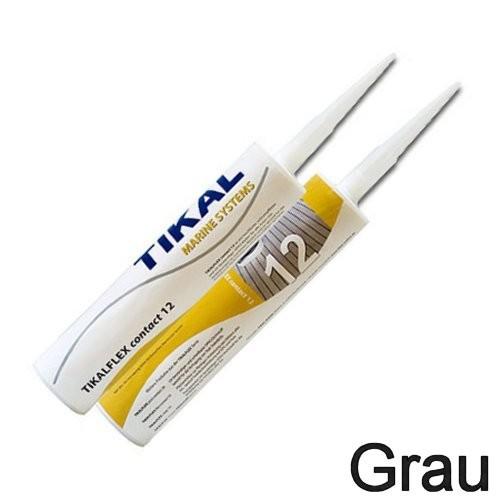 Tikalflex Contact 12 Grau Kartusche