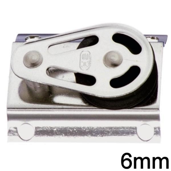 Sprenger Block 1fach liegend 6mm