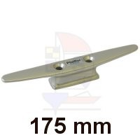Mastklampe 175mm silber
