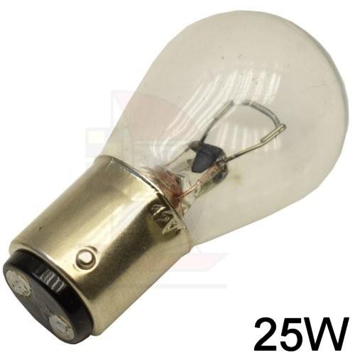 Glühlampe BA15d 12V / 25W
