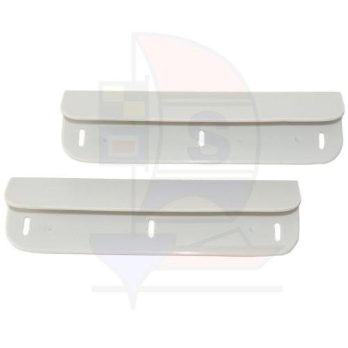 1 Paar Sitzbankklammer grau