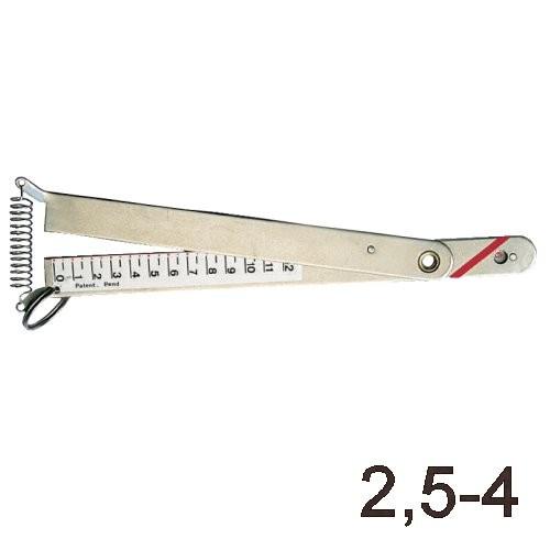 Wantenspannungsmesser 2,5 - 4mm